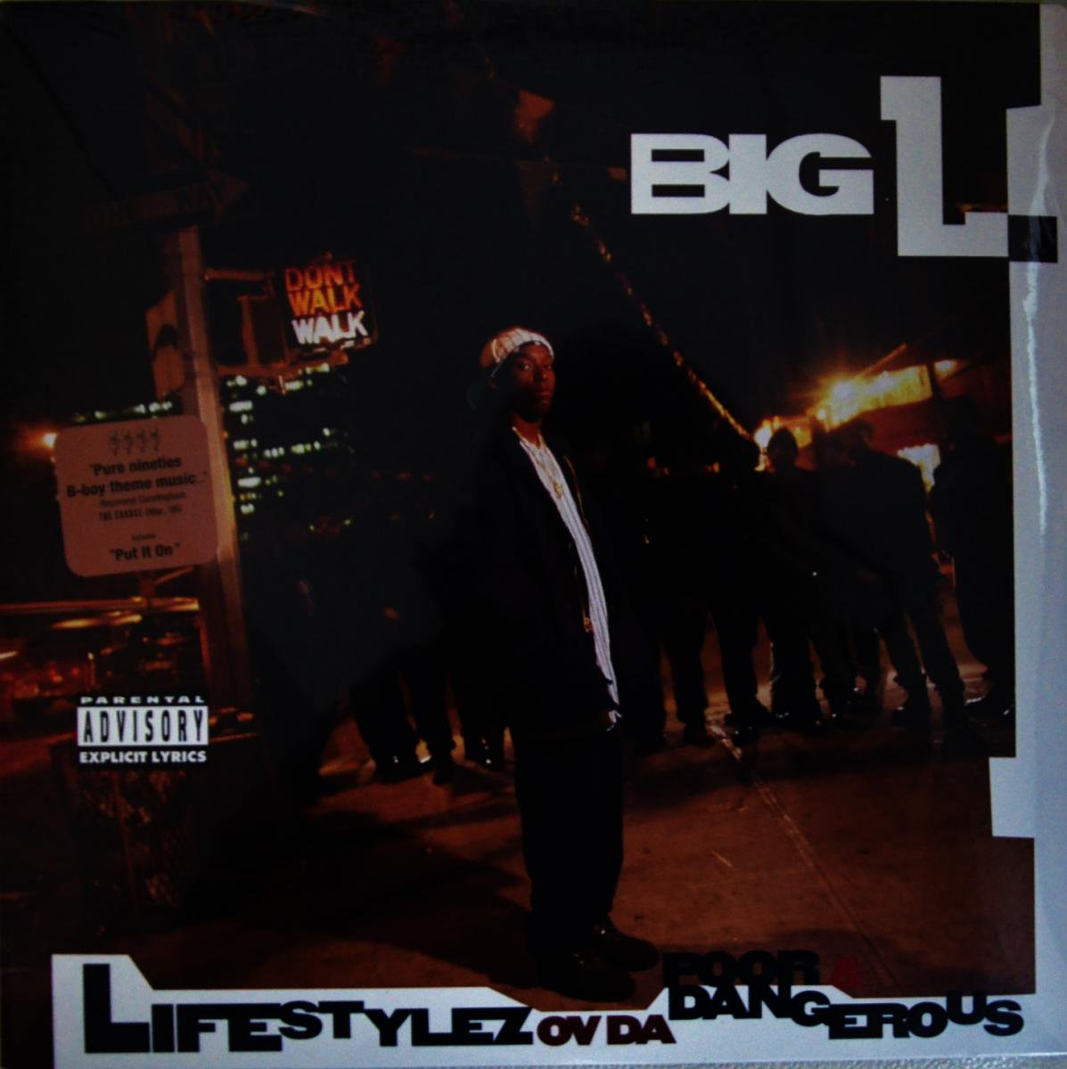 BIG L / LIFESTYLEZ OV DA POOR & DANGEROUS (1LP)