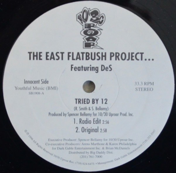 THE EAST FLATBUSH PROJECT...FEAT.DeS / TRIED BY 12 (12