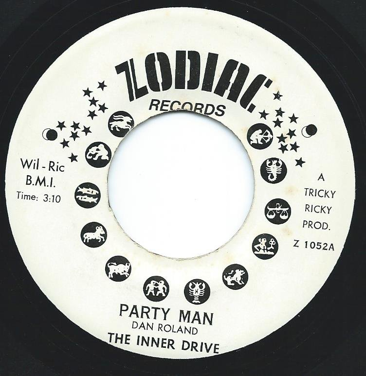 THE INNER DRIVE / PARTY MAN / SMELL THE FUNK (7