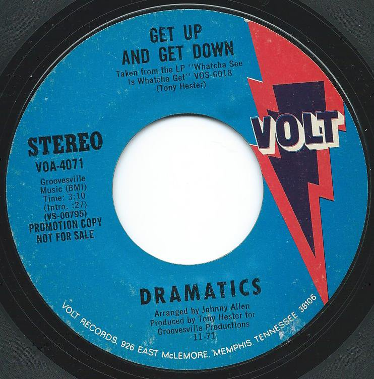 DRAMATICS / GET UP AND GET DOWN (7