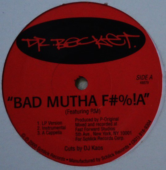 DR. BECKET / BAD MUTHA F#%!A / CREATIVITY (FEAT.EL DA SENSEI, K-SKILLS) (12