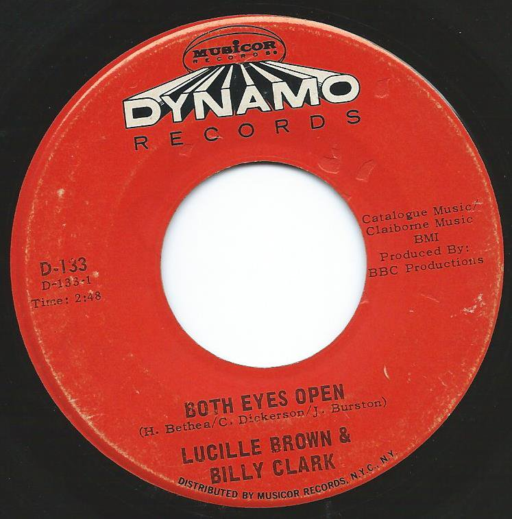LUCILLE BROWN & BILLY CLARK / BILLY CLARK & HIS ORCHESTRA / BOTH EYES OPEN / HOT GRAVY (7