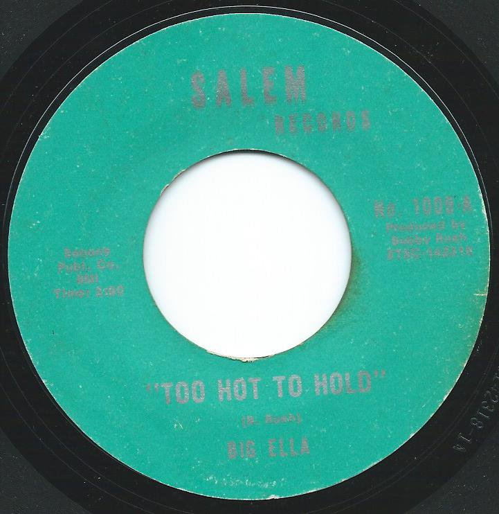 BIG ELLA / TOO HOT TO HOLD / COME BACK HOME (7