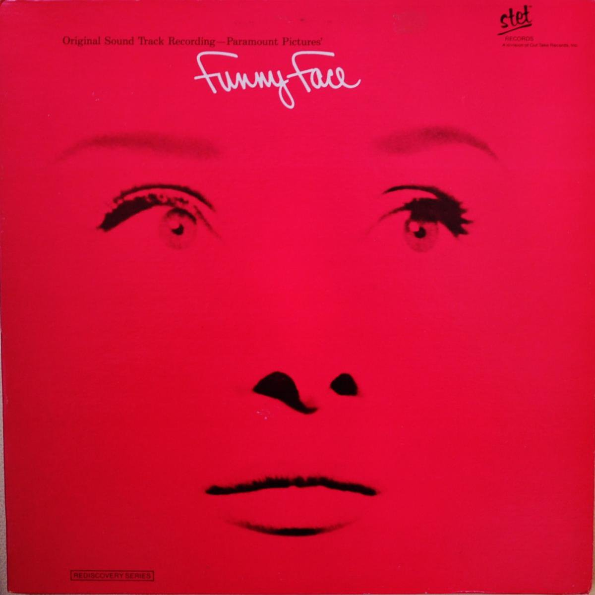 FRED ASTAIRE,AUDREY HEPBURN AND KAY THOMPSON / FUNNY FACE (ORIGINAL SOUND TRACK RECORDING) (LP)