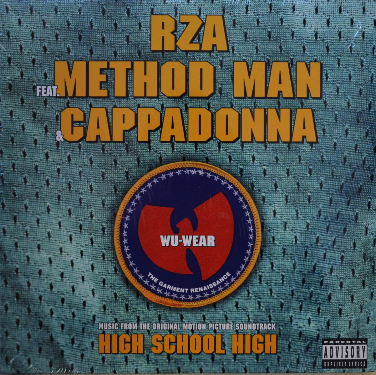 REAL LIVE / RZA - GET DOWN FOR MINE (PROD K-DEF) / WU-WEAR: THE GARMENT RENAISSANCE (12