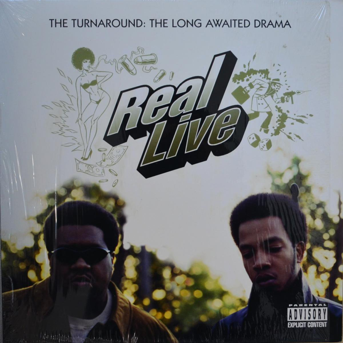 REAL LIVE / THE TURNAROUND: A LONG AWAITED DRAMA (PROD BY K-DEF) (2LP)