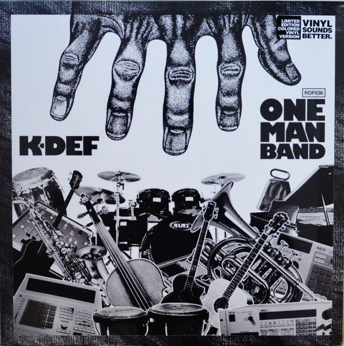 K-DEF / ONE MAN BAND (LIMITED TO 500 COPIES GREEN VINYL) (LP)