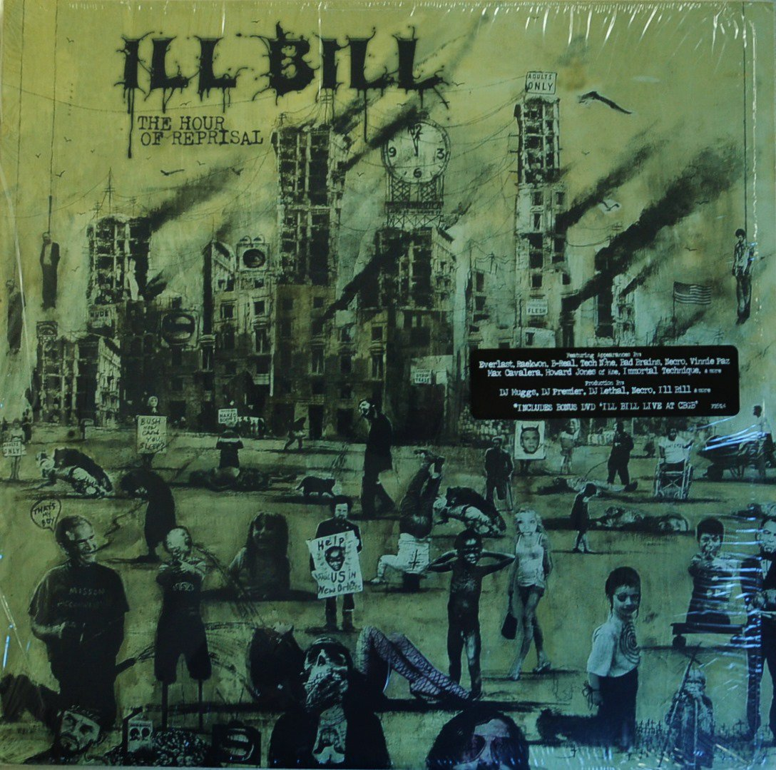 ILL BILL / THE HOUR OF REPRISAL (2LP+DVD)