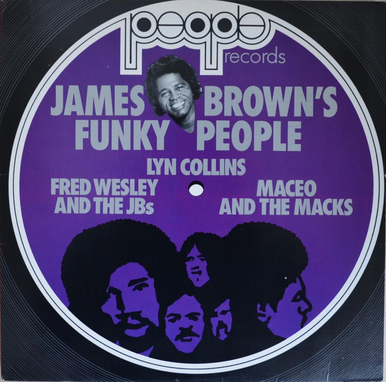 V.A. / JAMES BROWN'S FUNKY PEOPLE (LP)