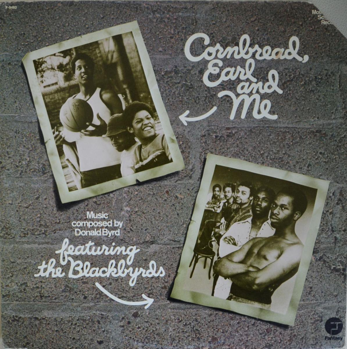 O.S.T.(THE BLACKBYRDS) / CORNBREAD, EARL AND ME (LP)