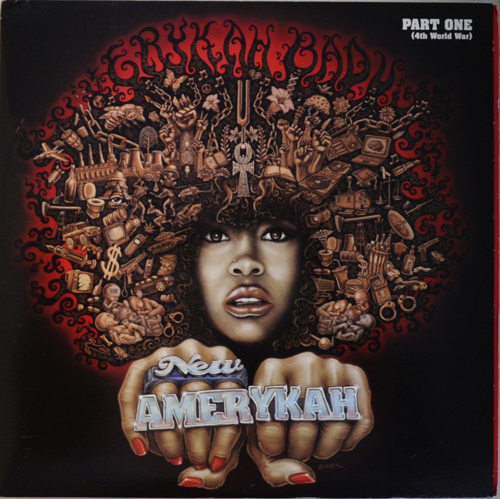 ERYKAH BADU / NEW AMERYKAH: PART ONE (4TH WORLD WAR) (LP)