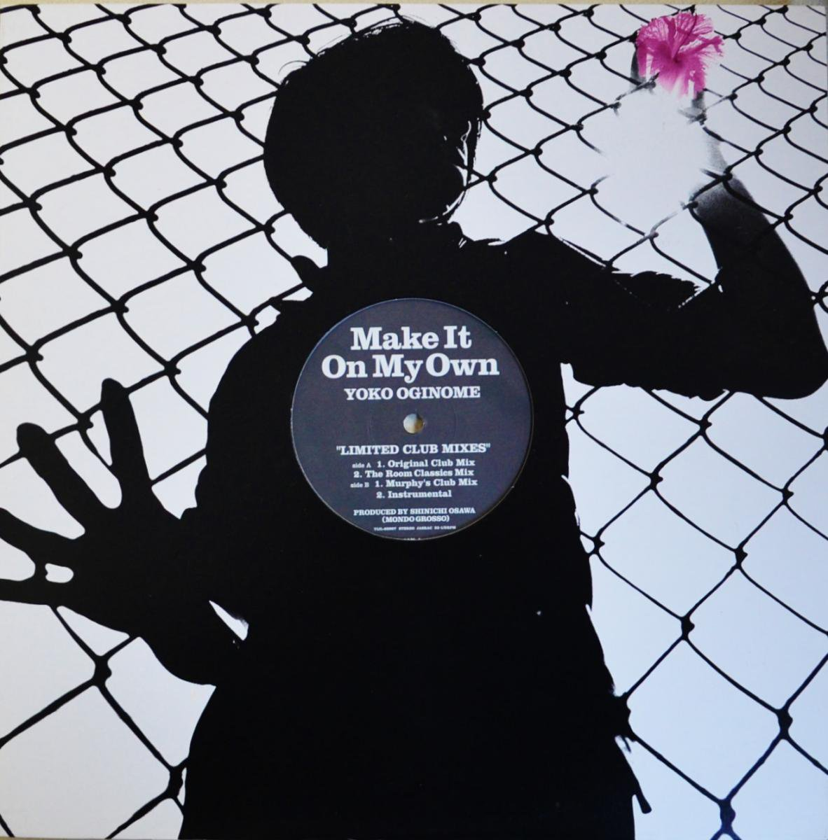 荻野目洋子 YOKO OGINOME / MAKE IT ON MY OWN - LIMITED CLUB MIXES (12