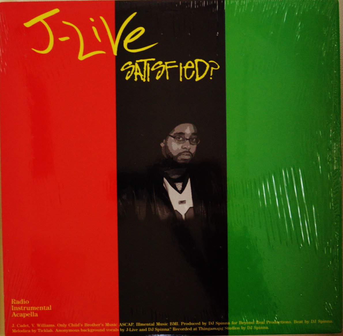 J-LIVE / SATISFIED? / A CHARMED LIFE (12