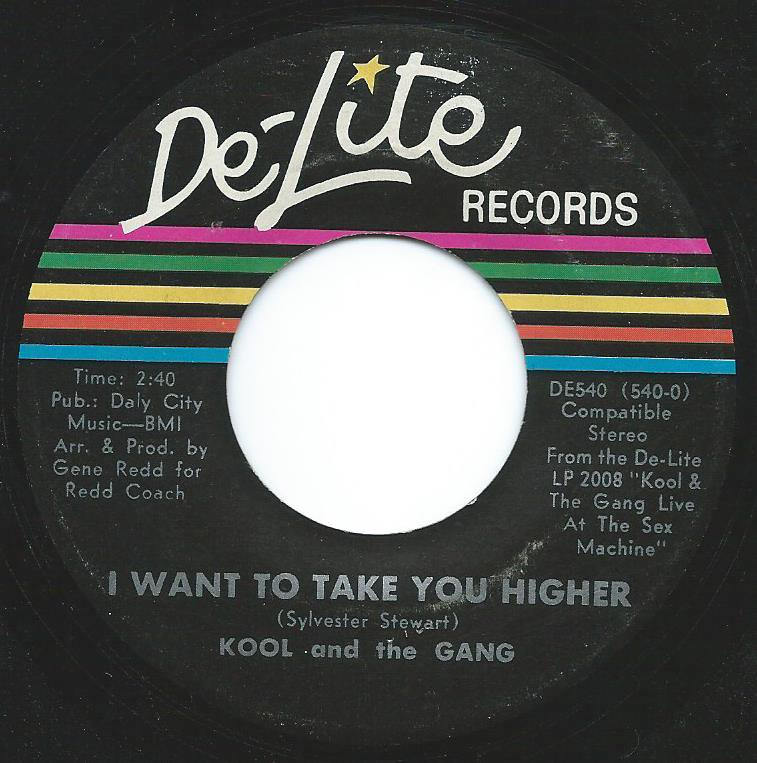 KOOL AND THE GANG / I WANT TO TAKE YOU HIGHER / PNEUMONIA (7
