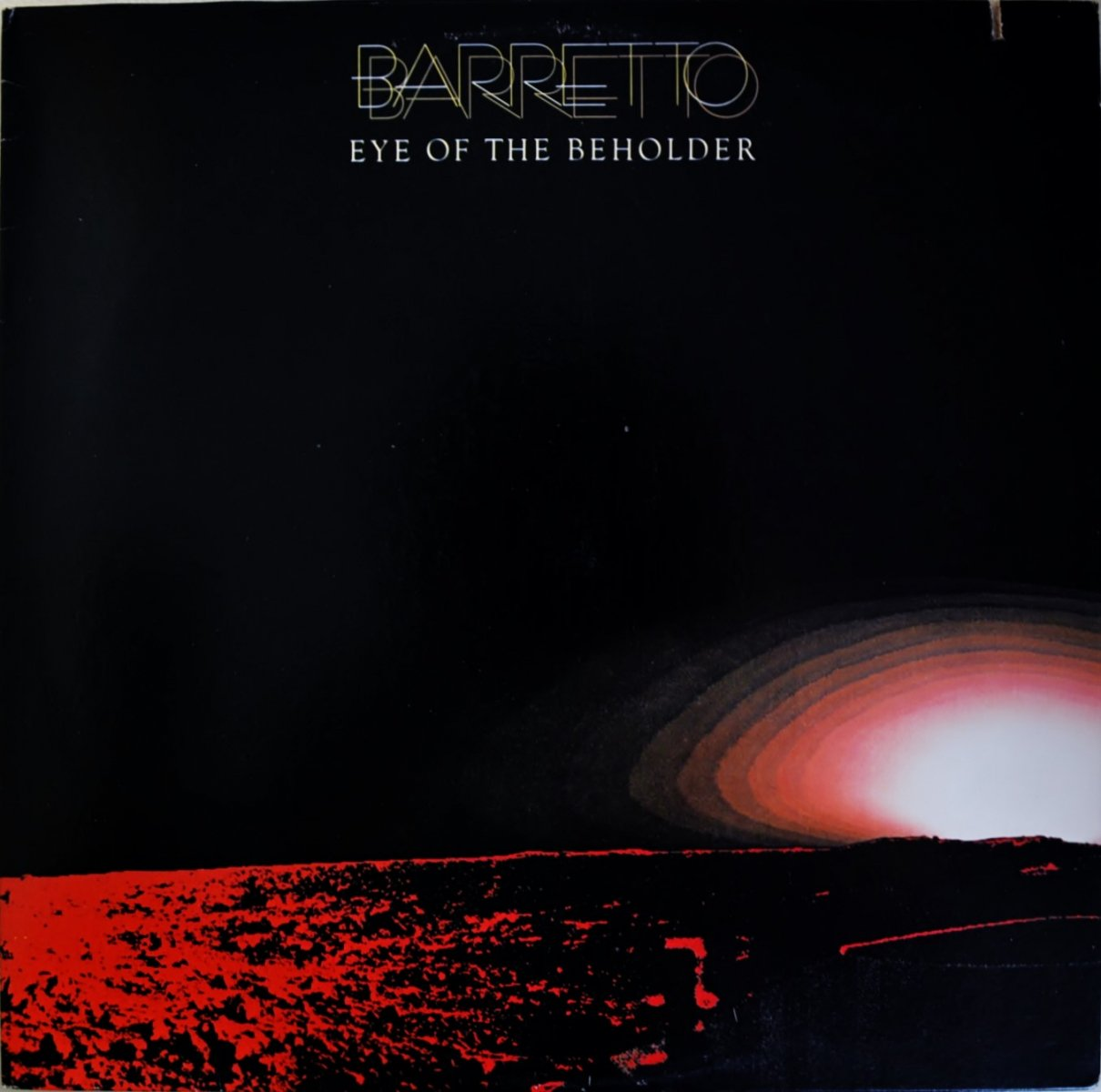BARRETTO (RAY BARRETTO) / EYE OF THE BEHOLDER (LP)