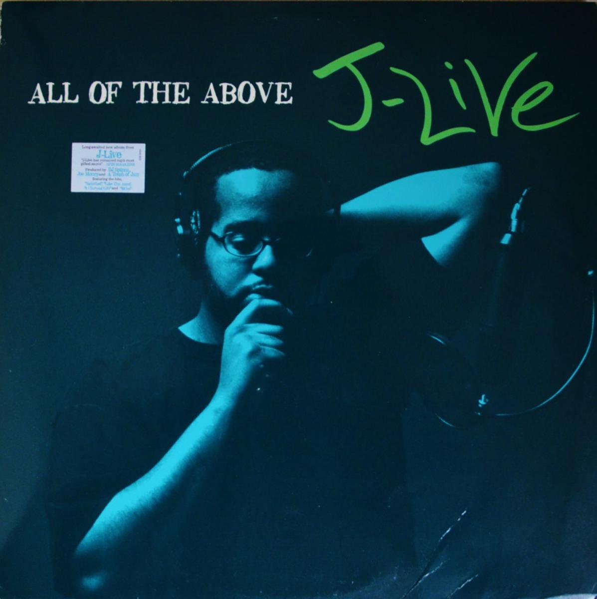 J-LIVE / ALL OF THE ABOVE (2LP)