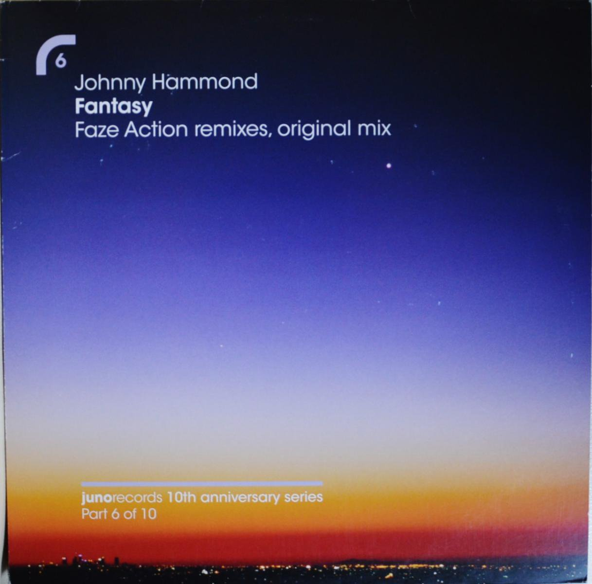JOHNNY HAMMOND / FANTASY (FAZE ACTION REMIXES,ORIGINAL MIX) (12