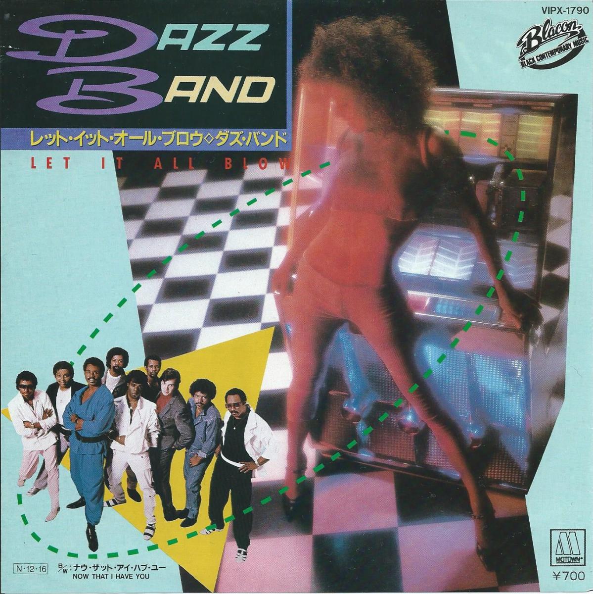 ダズ・バンド DAZZ BAND / レット・イット・オール・ブロウ LET IT ALL BLOW (7