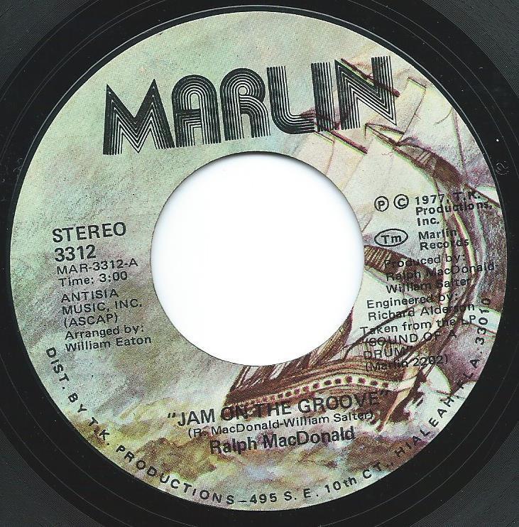 RALPH MACDONALD / JAM ON THE GROOVE (7