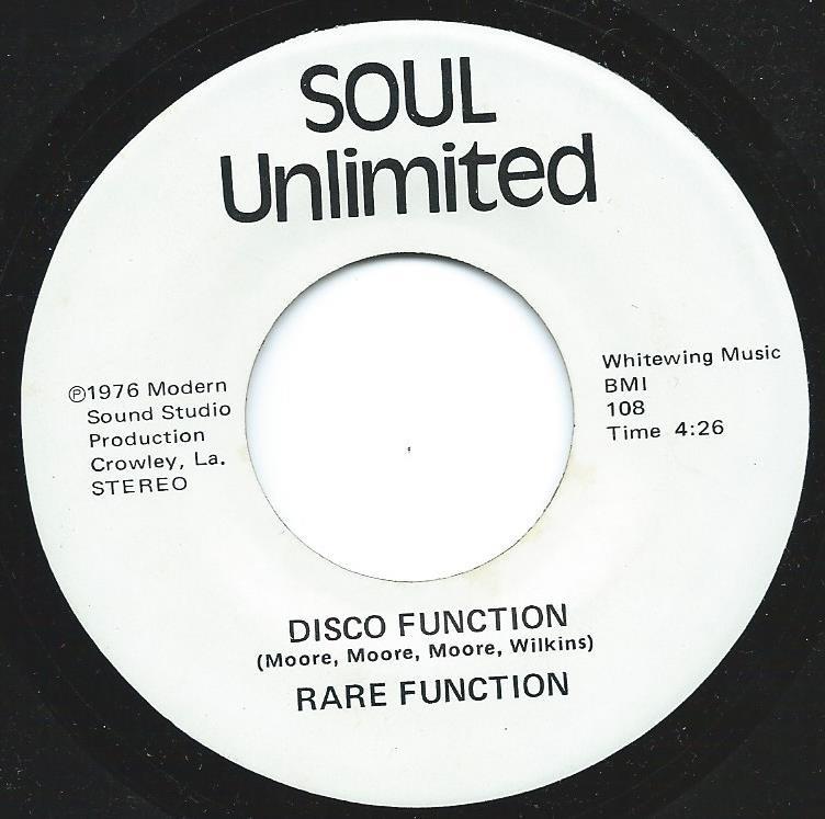 RARE FUNCTION / DISCO FUNCTION (7