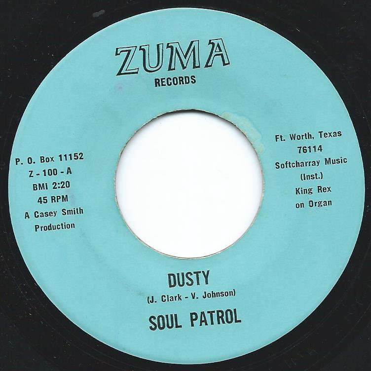 SOUL PATROL / DUSTY / PETER PAN (7