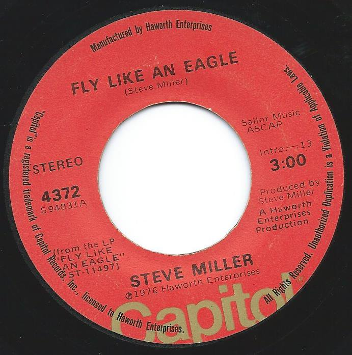 STEVE MILLER BAND / FLY LIKE AN EAGLE (7