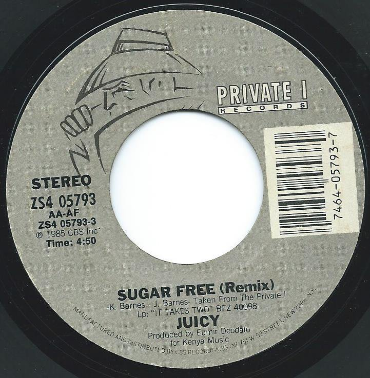 JUICY / SUGAR FREE (REMIX) / FOREVER AND EVER (7