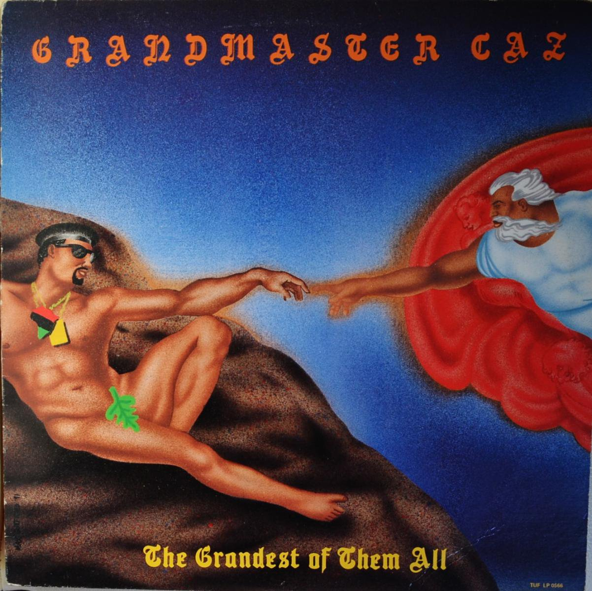 GRANDMASTER CAZ / THE GRANDEST OF THEM ALL (LP)