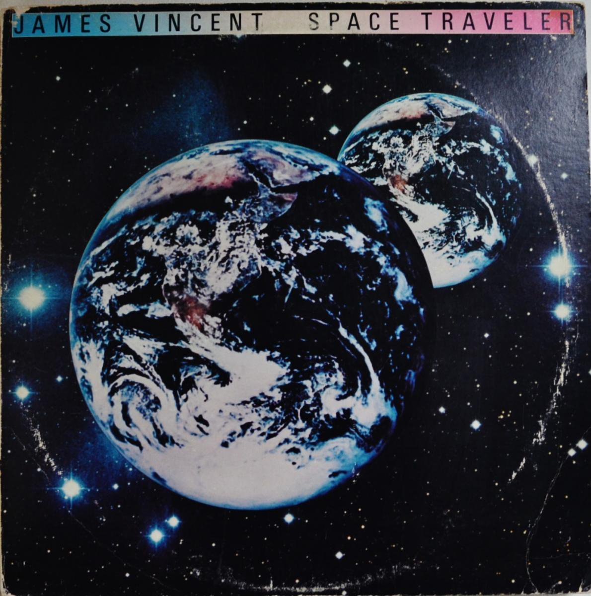 JAMES VINCENT / SPACE TRAVELER (LP)