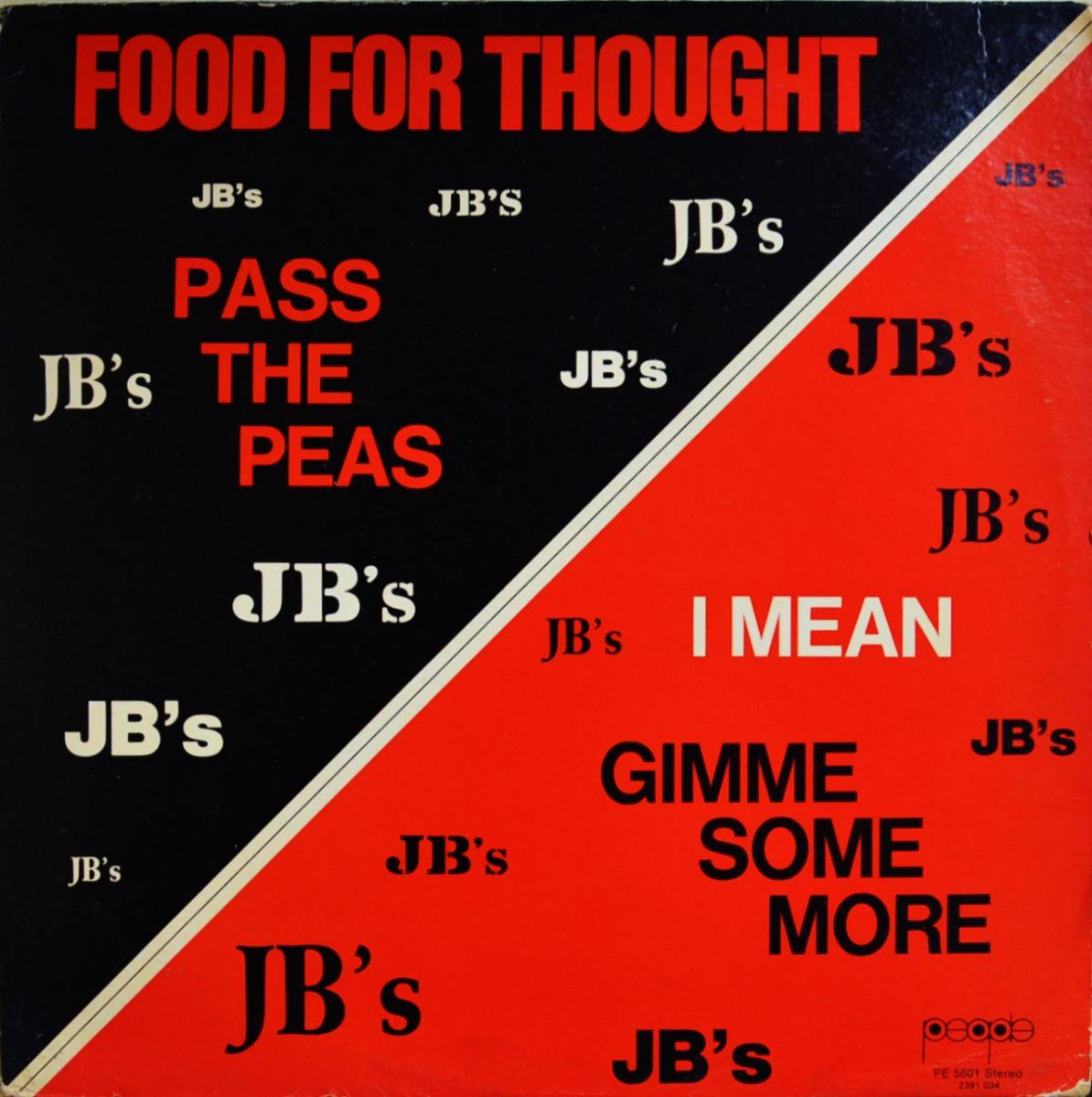 JB'S / FOOD FOR THOUGHT (LP)
