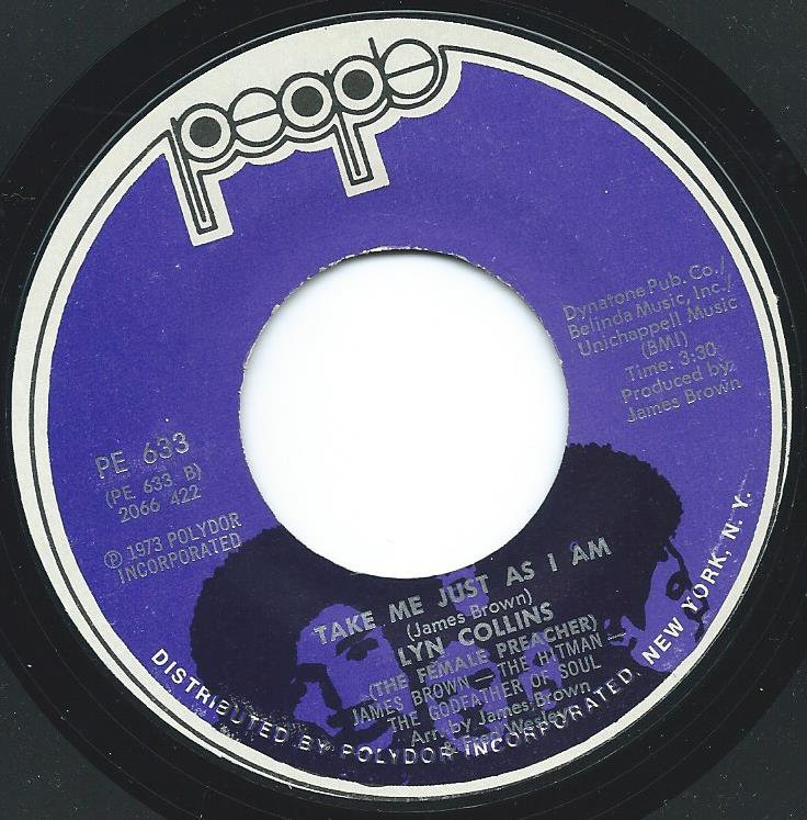LYN COLLINS / TAKE ME JUST AS I AM / DON'T MAKE ME OVER (7