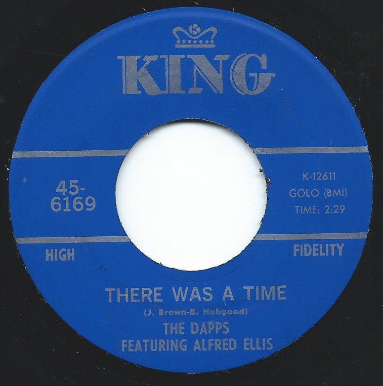 THE DAPPS FEATURING ALFRED ELLIS / THERE WAS A TIME / THE RABBIT GOT THE GUN (7