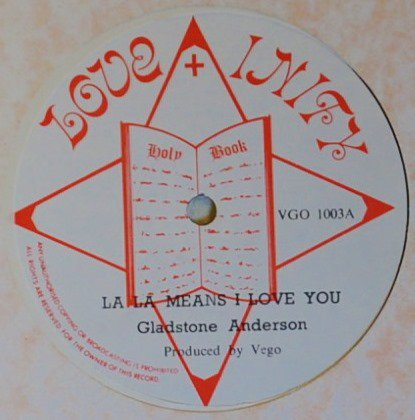 GLADSTONE ANDERSON / CHOSEN FEW / LA LA MEANS I LOVE YOU / LOVE BETWEEN A BOY & GIRL (12