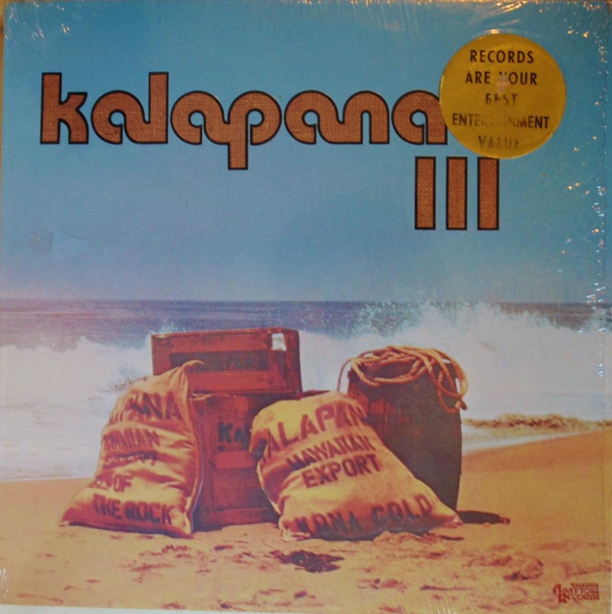 KALAPANA / KALAPANA III (LP)