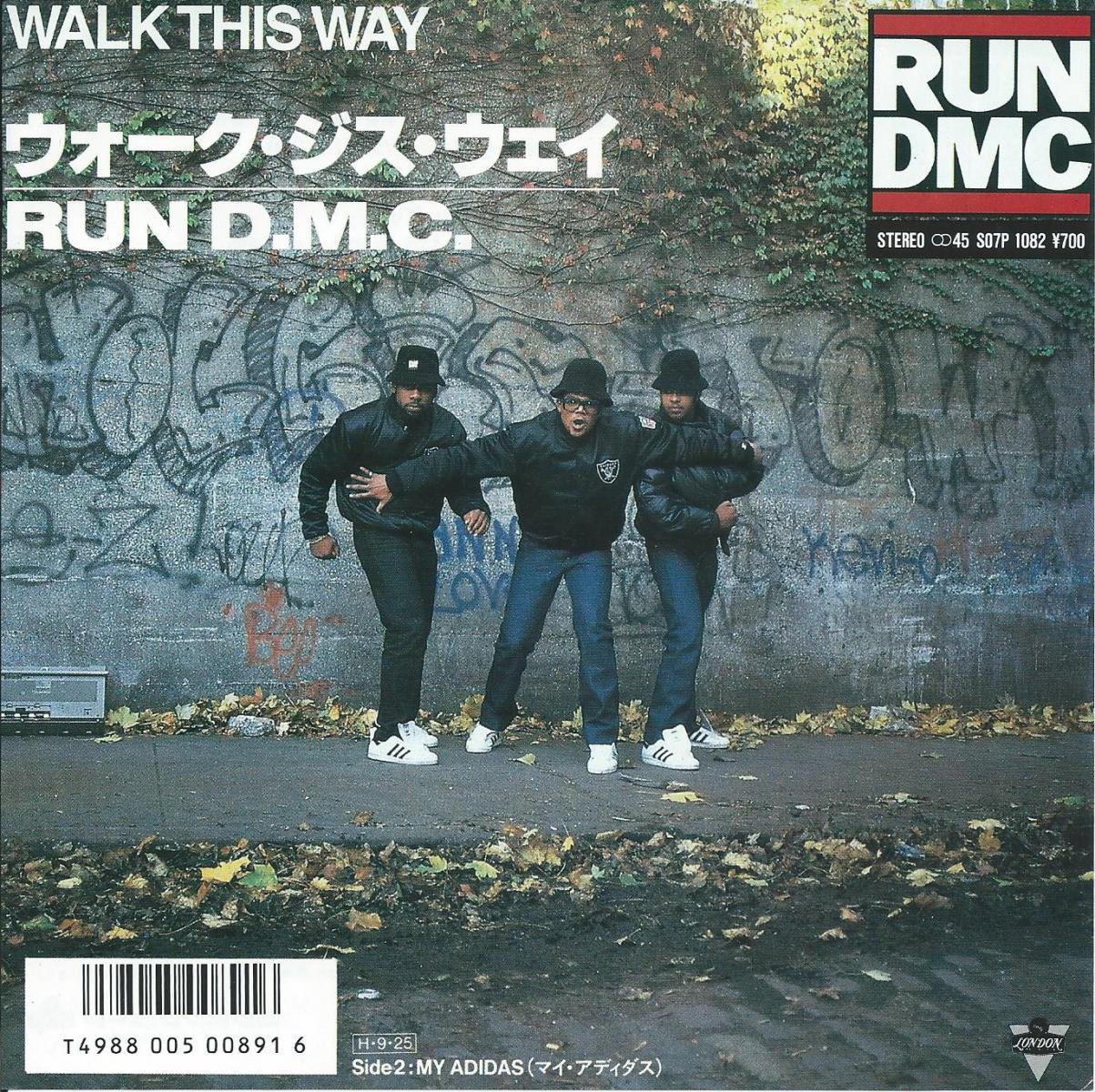 RUN DMC / ウォーク・ジス・ウェイ WALK THIS WAY (7