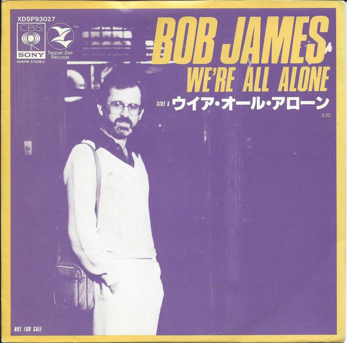 ボブ・ジェームス BOB JAMES / ウイア・オール・アローン WE'RE ALL ALONE (7