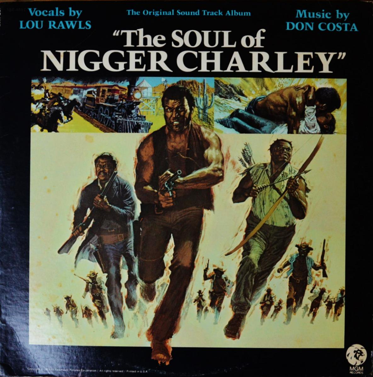 LOU RAWLS / DON COSTA / THE SOUL OF NIGGER CHARLEY (ORIGINAL SOUNDTRACK ALBUM) (LP)