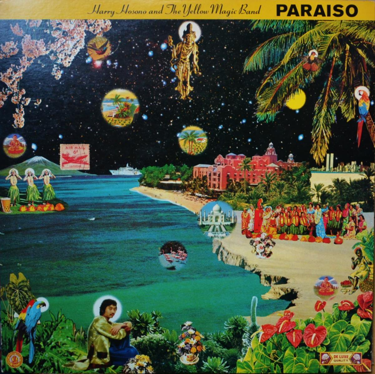 細野晴臣 HARUOMI HOSONO (HARRY HOSONO AND THE YELLOW MAGIC BAND) / はらいそPARAISO (LP)