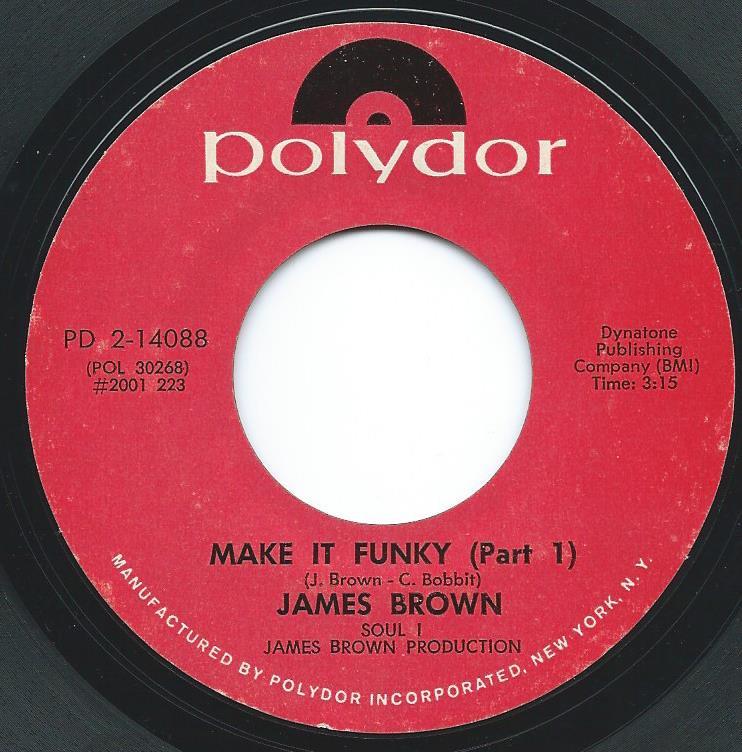 JAMES BROWN / MAKE IT FUNKY (7