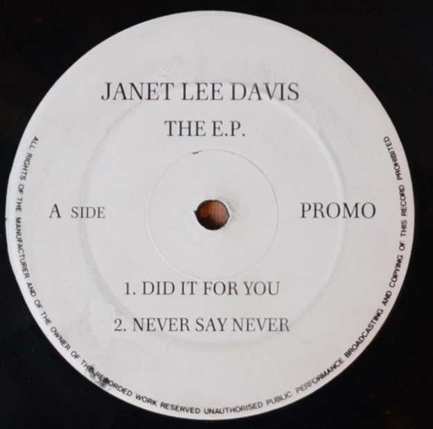 JANET LEE DAVIS / THE E.P. (12