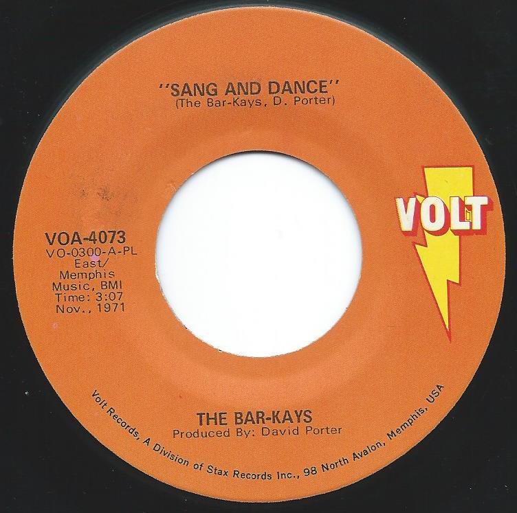 THE BAR-KAYS / SANG AND DANCE / SON OF SHAFT (7