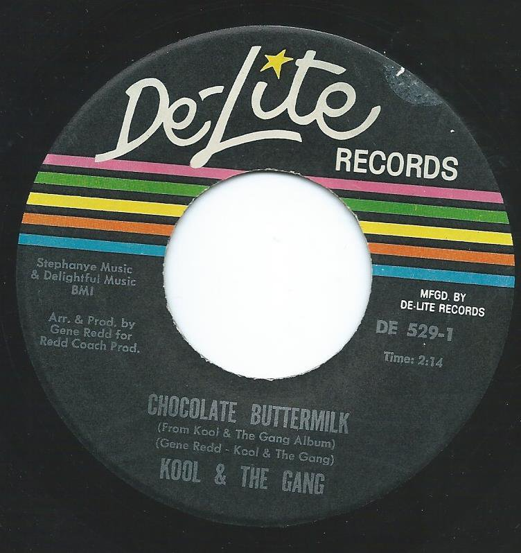 KOOL & THE GANG / CHOCOLATE BUTTERMILK / LET THE MUSIC TAKE YOUR MIND (7