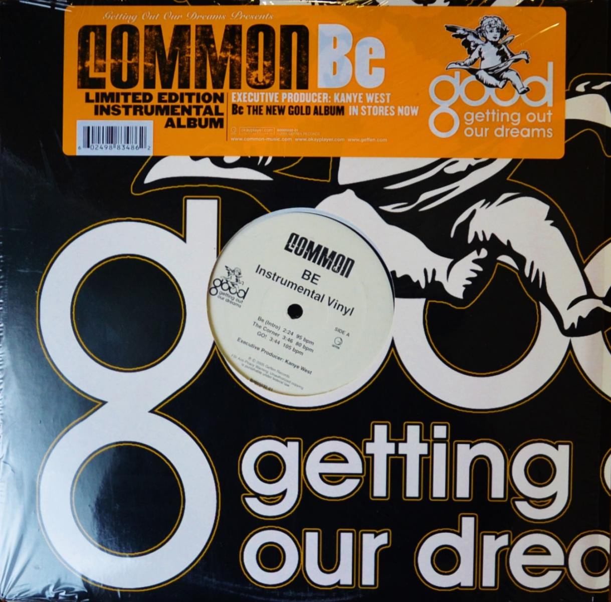 COMMON / BE-INSTRUMENTAL ALBUM (2LP)