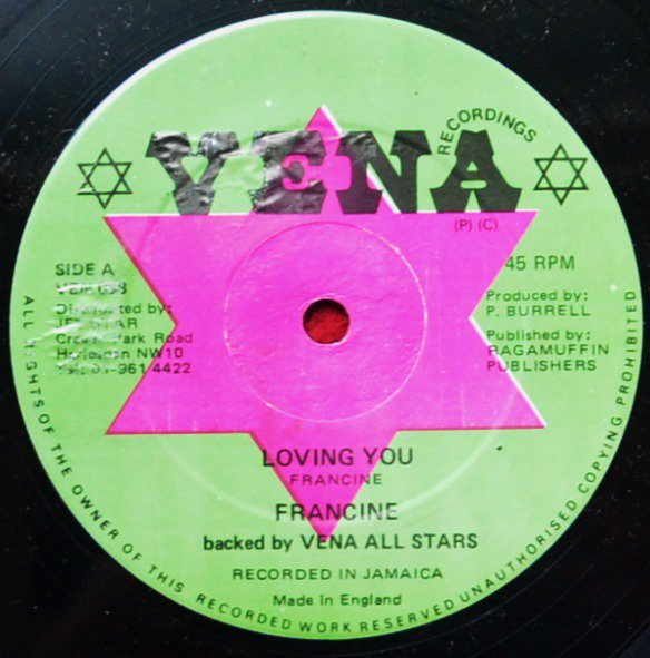 FRANCINE / STINGER / LOVING YOU / WHO DEM AH TRY FI TEST (12