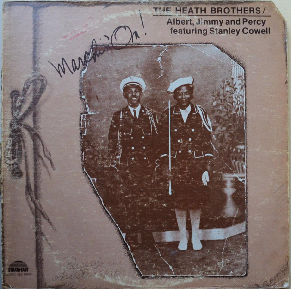 THE HEATH BROTHERS / ALBERT, JIMMY AND PERCY FEATURING STANLEY COWELL / MARCHIN' ON! (LP)