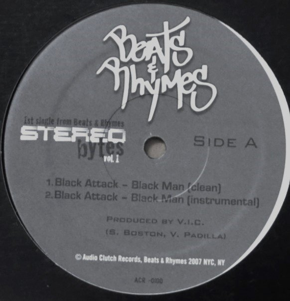 BLACK ATTACK / BUTTA VERSES / BLACK MAN (PROD V.I.C.) / JONES IN YA BONES (MARCO POLO) (12