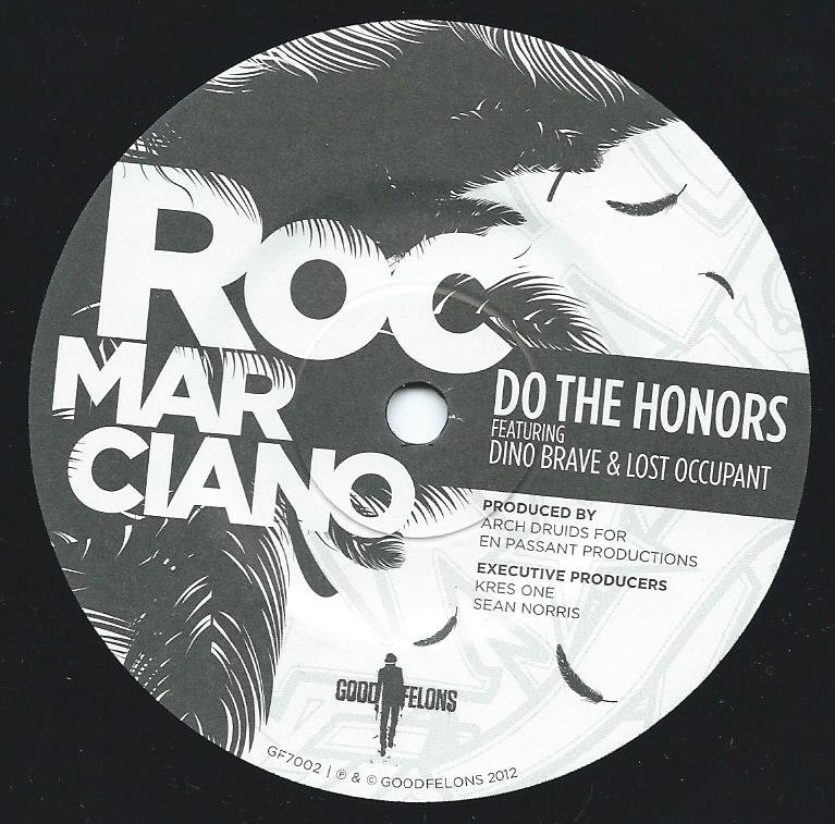 ROC MARCIANO / DO THE HONORS (FT.DINO BRAVE OF THE U.N.,LOST OCCUPANT) (7