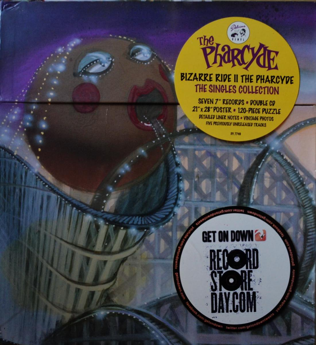 THE PHARCYDE / BIZARRE RIDE II THE PHARCYDE: THE SINGLES COLLECTION BOX SET (7×7
