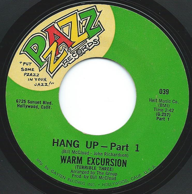 WARM EXCURSION / HANG UP (PART 1 / 2) (7