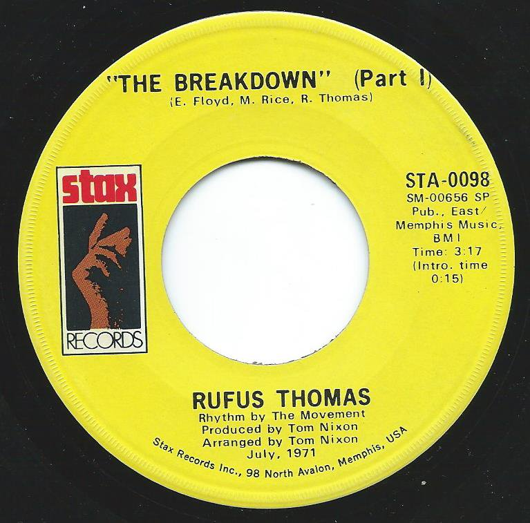 RUFUS THOMAS / THE BREAKDOWN (7